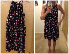 Pixley Tammi Keyhole Dress - Stitch Fix Dress (Box 1)  Maybe for summer.. I'm just not at the comfort level with my body on this one yet. Plus I don't do well with strapless bras and I'm not sure what else I could wear with this besides one. #FlatChestedProblems