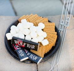 The only thing better than s'mores; s'mores at Great Wolf Lodge.