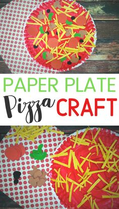 Paper Plate Crafts 181903272436806486 - Need a fun little craft to do with your kids this week? You probably already have all of the supplies you need to make this Paper Plate Pizza Craft idea. Source by shesaved Paper Plate Art, Paper Plate Crafts For Kids, Summer Crafts For Kids, Paper Plates, Paper Crafting, Art For Kids, Kid Art, Spring Crafts, Crafts To Do