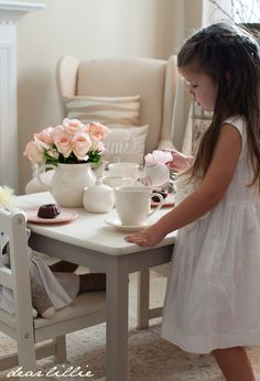 We have a play room on the second floor just for little girls.. from young to older. We have tea sets, plastic kitchens with tables, we have tons of books, toys for all ages and we always have 3 nanny's working in the girls room to handle any crisis that might arise.
