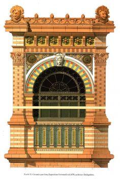 9   Викторианская кирпичная и терракотовая архитектура - Pierre Chabat   ARTeveryday.org