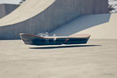 Slide un prototype de skate à lévitation par Lexus. #lexushover