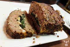 Meatloaf :: MeatEater with Steven Rinella; we went milk and cheese free; also we didn't have nutmeg or chili flakes, subbed cashews for pine nuts (because of price); Michael forgot the chives and didn't use oatmeal, but extra breadcrumbs instead. STILL DELICIOUS.