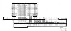 Gordon Bunshaft / SOM, Beinecke Rare Book and Manuscript Library, Yale University, New Haven, CT, 1963,