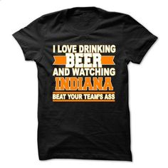 drink beer and watching Indiana teamm - #clothing #men t shirts. MORE INFO => https://www.sunfrog.com/Funny/drink-beer-and-watching-Indiana-teamm.html?60505