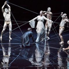 Iris van Herpen designs the new costumes for the Anvers Opera Iris Van Herpen, Set Design Theatre, Stage Design, Dark Fantasy Art, Claude Debussy, Inspiration Artistique, Dance Project, Royal Ballet, Contemporary Dance