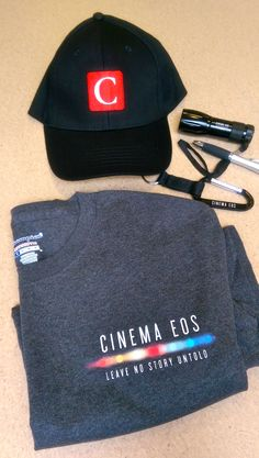 Don't forget to sign in for the 10a-12n Learning Lab this morning on the C300 Mark II with Canon​'s Ryan Snyder! Check out this awesome Canon swag we'll be handing out to guests who sign in - while supplies last! Thanks for all the swag, Canon!