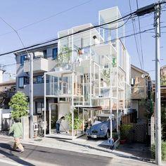 UD04 #espacioscontiguos House NA by Sou Fujimoto Architects