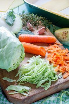 Vegetable Lasagne, Vegetable Recipes, Vegetarian Recipes, Healthy Recipes, Lasagna Recipe Without Ricotta, Cabbage Salad Recipes, Easy Casserole Recipes, Clean Recipes, Going Vegan