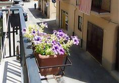 mastro nino holiday house view from balcony street close to all amenities