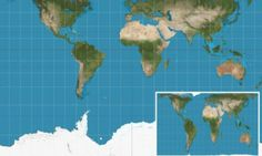Why every world map you're looking at is WRONG: The 'accurate' version that shrinks America and reveals true size of Africa #DailyMail