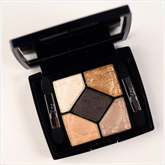 Dior Night Golds Eyeshadow Palette Holiday 2012 Collection (Limited Edition)-Love these shades! Gold Eyeshadow Palette, Gold Palette, Makeup Palette, Dior Makeup, Eye Makeup, Makeup Geek, Love My Makeup, Gorgeous Makeup, Beauty Make Up