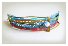 Xanthippe Tsalimi crafts & jewelry Diy Crafts Jewelry, Handmade Jewelry, Jewellery, Bracelets, Bags, Accessories, Bangle Bracelets, Handbags, Jewels