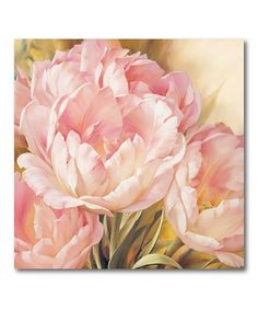 Look what I found on #zulily! Blooming Beauty I Canvas Wall Art #zulilyfinds awesome looking