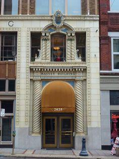 Birmingham, AL Massey Building entrance by army.arch, via Flickr