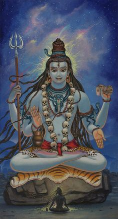 Shiva darshan Art Print by Vrindavan Das. All prints are professionally printed, packaged, and shipped within 3 - 4 business days. Choose from multiple sizes and hundreds of frame and mat options. Kali Shiva, Shiva Art, Hindu Art, Shiva Hindu, Indiana, Aghori Shiva, Meditation Images, Lord Shiva Hd Images, Shiva Tattoo