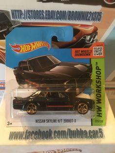 HOT WHEELS Nissan Skyline H/T 2000 GT-X  SHORT CARD #HotWheels #Nissan