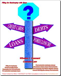 Filing for Bankruptcy with Ease  http://wcuenantlaw.blogspot.com/2013/06/filing-for-bankruptcy-with-ease.html  http://cuenantlaw.com/filing-for-bankruptcy-steps-to-take/