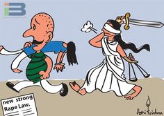 Rape Law Cartoon