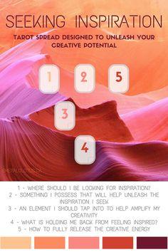 Tarot Card Spread – Unleash Creativity   Oracle Cards   Divination Layout