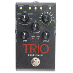 DigiTech TRIO Band Creator Pedal at Gear4music.com
