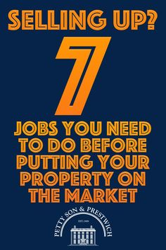 Thinking of selling your home? Naturally, there are a few jobs that need attending to before you put your property on the market, but what are the most important ones to address first? In this post, we'll explain which tasks you should tackle if you really want to move the needle in terms of what price you'll get for your house or apartment and how quickly it'll be snapped up by prospective purchasers. #sellingpropertytips #propertysales #sellyourhome Moving House Tips, Moving Home, Moving Day, Us Real Estate, Selling Real Estate, Real Estate Investing, Sell Property, Being A Landlord, Staging