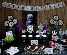 HAUNTED+MANSION+Full+Collection+Cutie+Putti+by+CutiePuttiPaperie,+$50.00