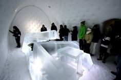 Icehotel suite