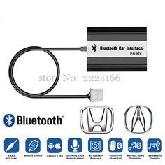 Lonleap Car Bluetooth A2DP MP3 Music Adapter for Honda Accord Civic CRV Acura CSX MDX RDX Interface USB Charger Car Parts