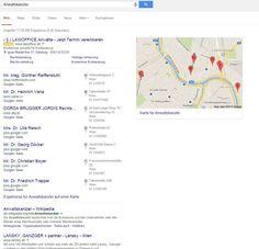 Anwaltskanzlei Google Search / Ads Beispiel Salzburg, Austria, Law, Google