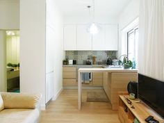 Pequeno apartamento encantador e feminino (De Catarina Rodrigues)