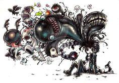 Monster Galore by Parororo