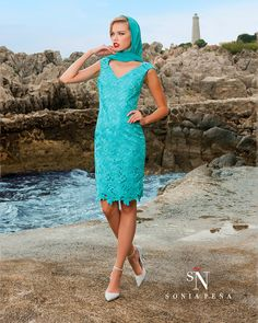 Vestidos de Fiesta, Vestidos de madrina, Vestidos para boda, Vestidos de Coctel 2016. Colección Primavera Verano Completa 2016. Sonia Peña - Ref. 1160002