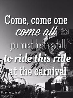 Carousel lyrics, Melanie Martinez #edit4me @lisaamcvicker