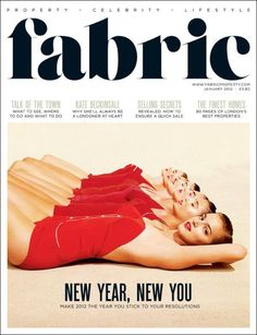 Fabric magazine. Great cover.