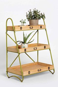 Tiered Ladder Shelf - Urban Outfitters / might be nice for an outdoor garden on the balcony