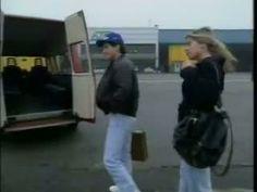 Ayrton Senna e Adriane Galisteu - Chegada para discutir a continuidade ou não de Ayrton na McLaren.