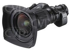 Canon HJ14ex4.3B IASE-A (HJ14) super wide angle 2/3inch HD zoom lens 4.3-60mm with 2x extender + FOCUS SERVO & e-digital drive unit w/encoder