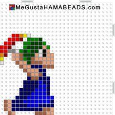 MeGustaHAMABEADS.com: Hama Beads Lemmings Parte 1