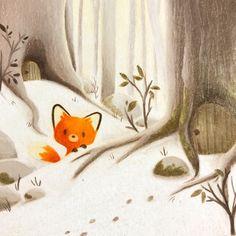 fox illustration - #Fox #illustration