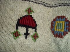 Indigenous Designs Womens Sweater Hand Knit Organic Wool XL Peru  #IndigenousDesigns #Collared