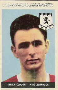 5. Brian Clough Middlesbrough