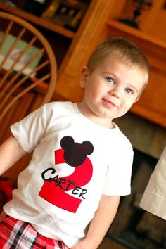 Mickey Mouse Birthday Party Ideas   Photo 1 of 13