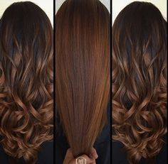 14 Winter Hair Color Trends You Have To Watch This Year - Color para el cabello - Chocolate Brown Hair Color, Brown Hair Colors, Chocolate Hair, Cinnamon Brown Hair Color, Fall Hair Colour, Caramel Hair With Brown, Fall Hair Color For Brunettes, Hair Color Balayage, Soft Balayage
