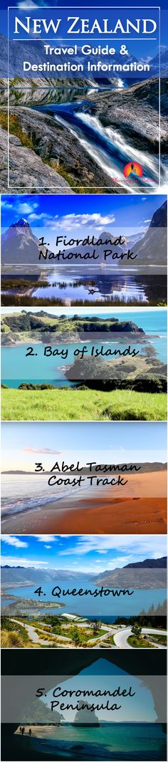 #Planning for a #adventurous #trip to New Zealand? It's full of adventures like hiking, skiing, caving, rafting, #skydiving, bungy jumping, etc. Check out these 7 best #travel #destinations in New Zealand. #Travelling #adventure #Oceania  #NewZealand