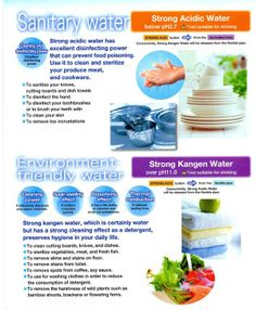 Kangen Cleaning Water