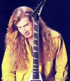 Dave Mustaine-Megadeth..................
