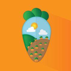 Carrot Farm on Behance