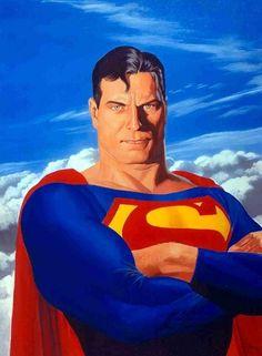 Superman portrait by Alex Ross.