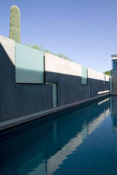 Planar House, Arizona, USA by Steven Holl Architects